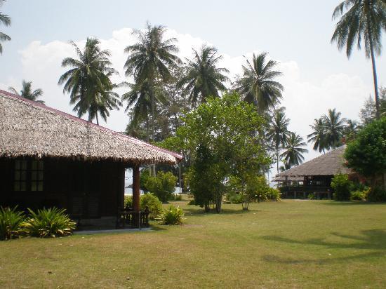 Mirage Island Resort: The resort gardens