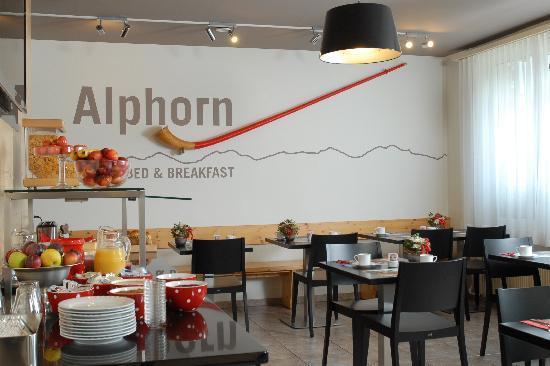 Hotel Alphorn: Frühstück im Alphorn Interlaken