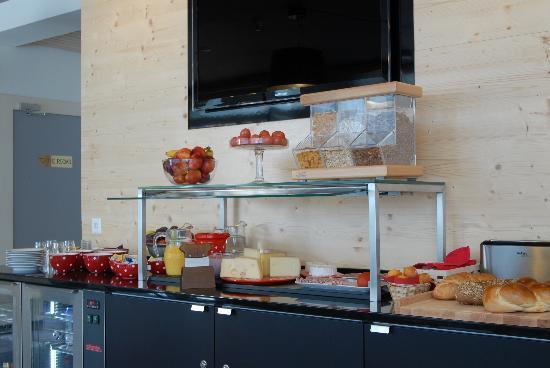 Hotel Alphorn: Frühstücksbuffet