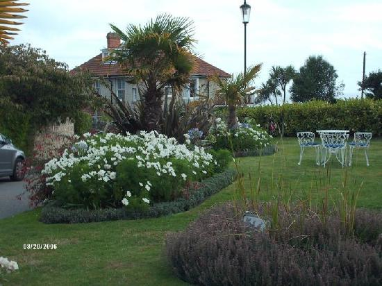 The Royal Hotel: gardens