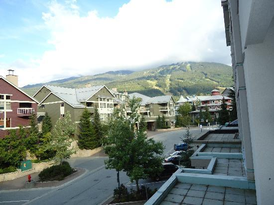 Summit Lodge Boutique Hotel: From the balcony