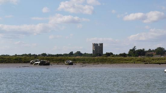 The Crown & Castle: Orford Castle from the River