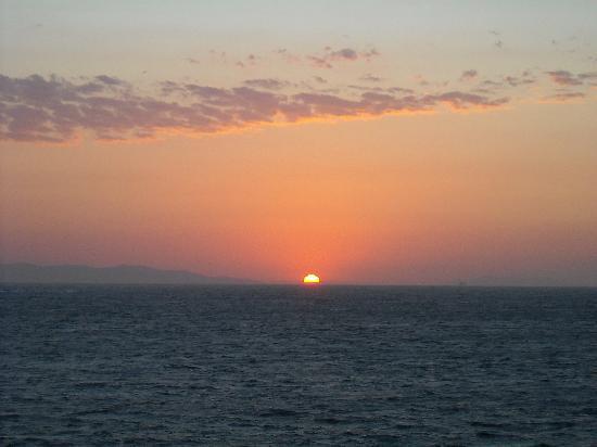 Marietta's Apartments & Studios : tramonto dalla terrazza