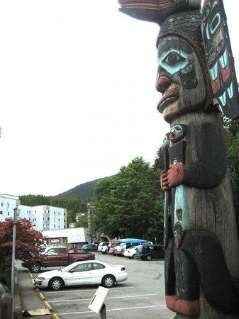 Chief Johnson Totem Pole: das Totem