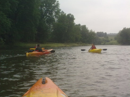 Montgomery Adventures - Day Tours: Views from the kayak