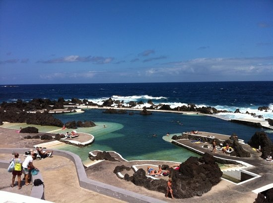 Porto Moniz, Portugal: from the entrance