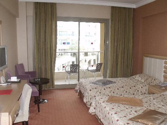 Grand Pasa Hotel: room