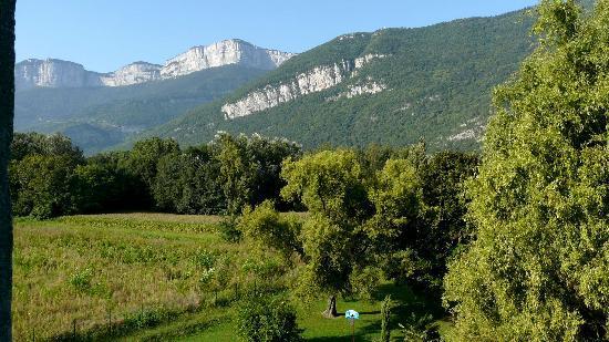 Hotel Novotel Grenoble Nord Voreppe : On ne se lasse pas de la vue sur le Vercors