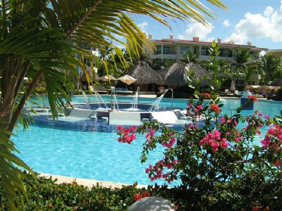 Paradisus Punta Cana Resort: Wonderful pools. Many to choose from.