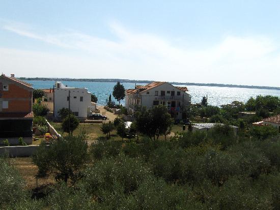Pension Smokvica: Blick vom Balkon