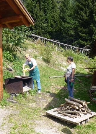 Фольгарида, Италия: Pranzo in baita
