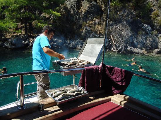 Hisaronu, Τουρκία: BBQ