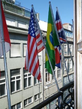 Guest House Porto Clerigus: du balcon de la chambre