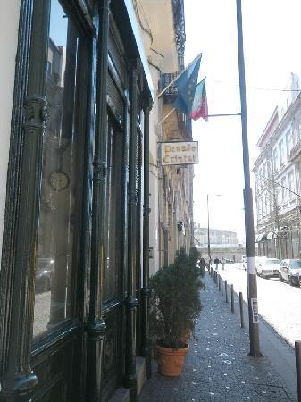 Guest House Porto Clerigus: l'entrée de l'hotel