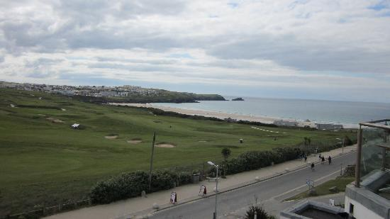 Carnmarth Hotel: View from our bedroom