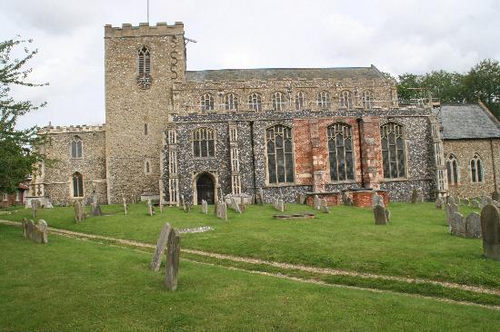 Queen's Head: Debenham Church, Suffolk