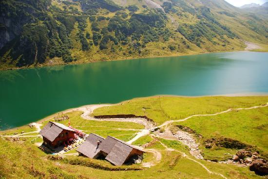 Kleinarl, Áustria: Tappenkarseealm vom Draugsteintörl kommend