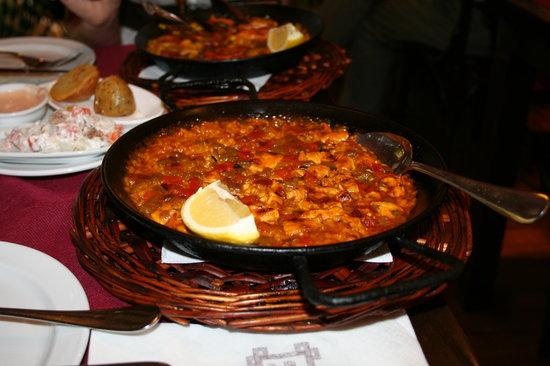 Restaurante Egipte : un'ottima paella