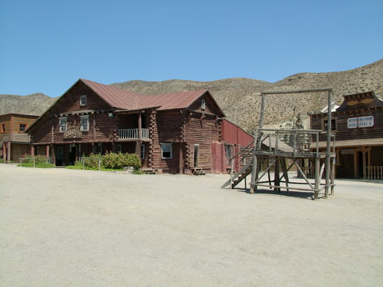 Provincia de Almería, España: The ranch used in 'Once Upon a Time in the West'
