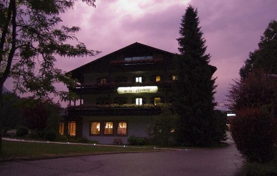 Alm- & Wellnesshotel Alpenhof: Hotel enterance