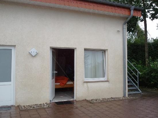 Eckotel H1: Zimmer mit Zugang von außen
