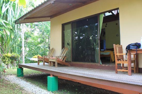 Fidelito Ranch & Lodge: gemütliche Veranda mit Sicht ins Grüne