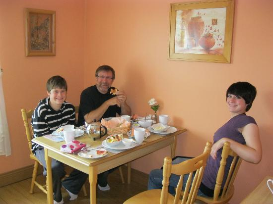 Bunratty Haven Bed and Breakfast: Breakfast
