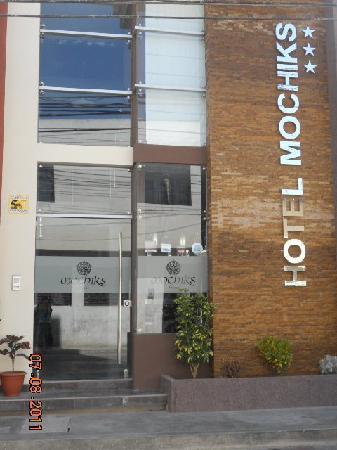 Hotel Mochiks : Fachada