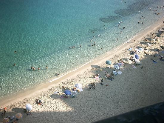 Strand von Tropea: che mare!!!