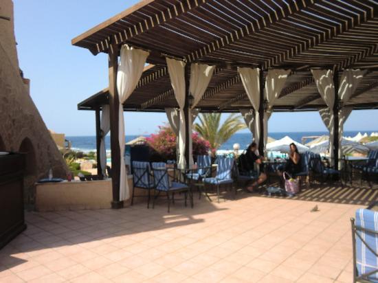 il ristorante terrazze esterne - Picture of Kahramana Beach Resort ...