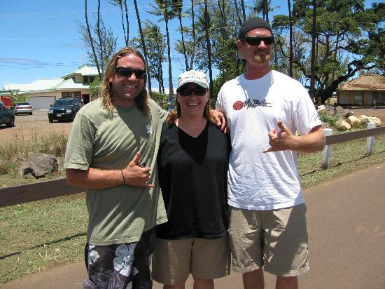 Paia, HI: Me, Billy and Billy