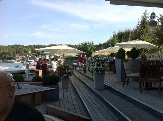 Seespitz: the other side is the bar section, it's also on the lake side