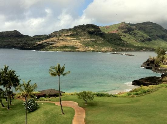 Marriott's Kauai Lagoons - Kalanipu'u: Another view from our lanai