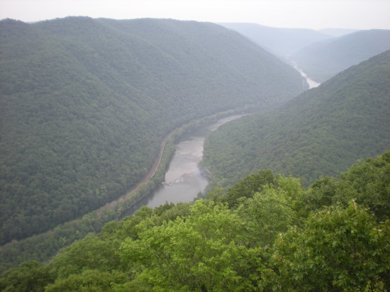 Beckley, WV: Scenic overlook - Grandview Park, West Virginia