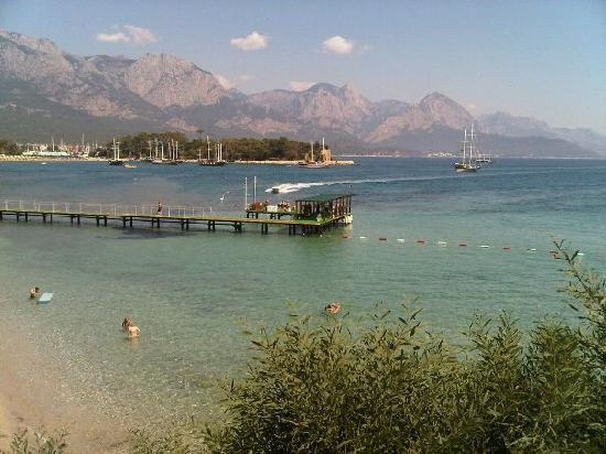 Club Med Kemer : beach view