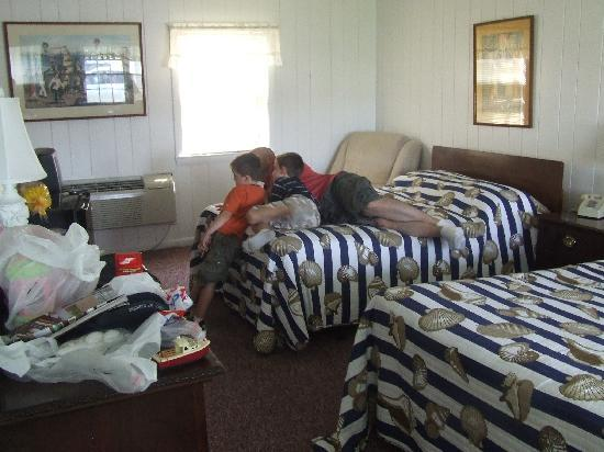 Essex River House Motel: Watching TV in the room