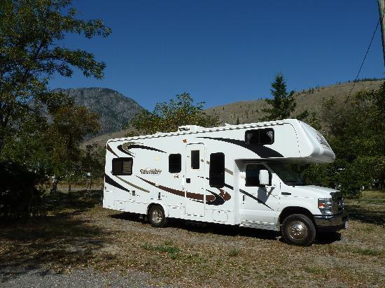 Acacia Grove RV Park & Cabins : Our Site