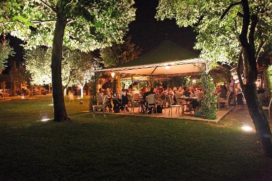 Locanda Gallehus: Dining - Outside