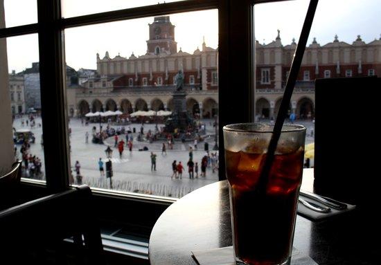Hard Rock Cafe Kraków: Great view!