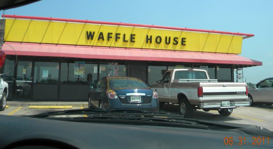 Waffle House: This one is in Tenesee and was very clean.