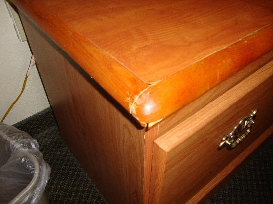 Crawfordsville, IN: Damaged furniture