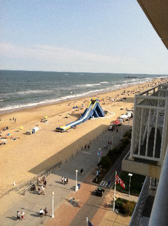 Courtyard Virginia Beach Oceanfront/South : View from the 9th Floor