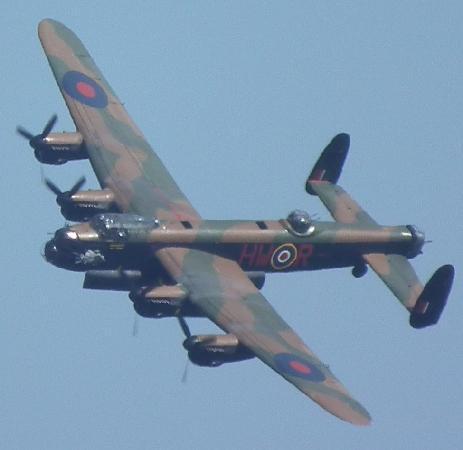 Lancaster at Duxford 03-09-11