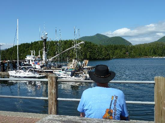 Ucluelet Campground: Relaxing in Ucluelet