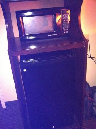 Hampton Inn Searcy : fridge micro