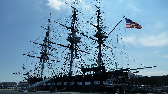 USS Constitution Museum: view from the waiting line
