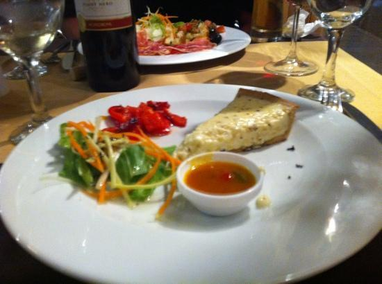 Infusion Restaurante: cheese tart