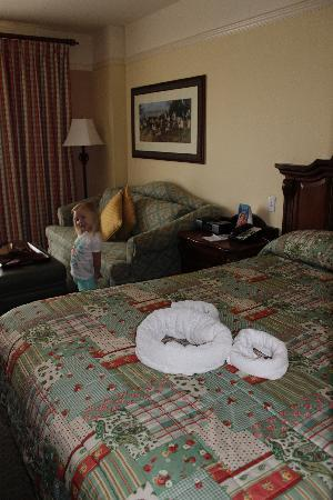 Disney's Saratoga Springs Resort & Spa: Studio Room