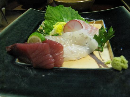 Jubei: お刺身美味しかったです。