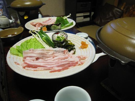 Jubei: この豚しゃぶは最高でした。